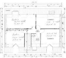 photo du plan du premier etage pas encore valide
