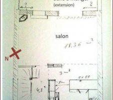 Voici une idée de l'aménagement prévu