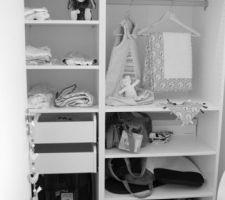 Dressing chambre de bébé !