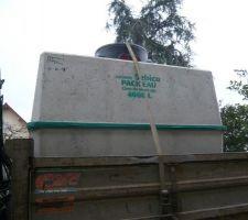 la cuve de 4000 litres