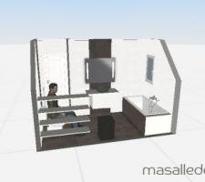 Salle de bain ... idée 1