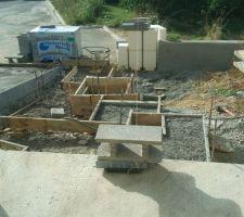 plots en beton pour les dalles d emmarchement