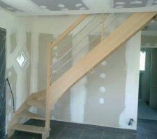 notre escalier pose