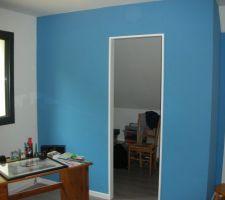 Papier peint de la chambre d'Hugo