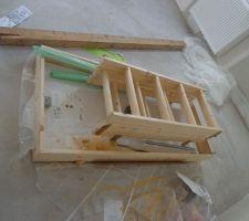 escalier escamotable a mettre pour le grenier