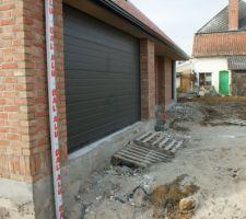 Porte de garage sans les seuils