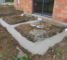 fondations terrasse