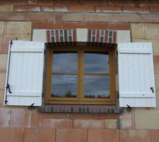 Fenêtre cuisine gros plan