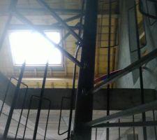 Essai de l\\\'escalier du garage vers l\\\'étage