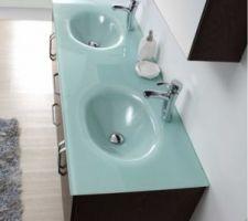 les meubles que nous pensons choisir pour la salle de bain parentale