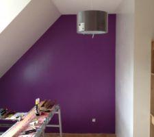 Suspension de la chambre violette.