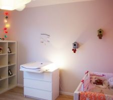 chambre avec les petits nichoirs