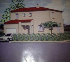 maison a etage sur la commune de theza