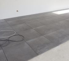 Carrelage TAgina Warmstone anthracite