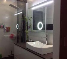 miroir eclaire