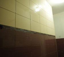 Carrelage de la salle de bain