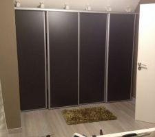 Recoupage des portes et installation de celle ci en sous-pente