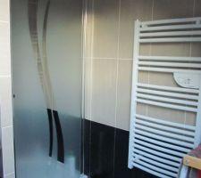 La salle de bain finie
