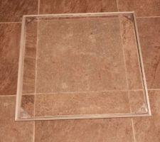 Trappe carrelée pour accès au vide sanitaire