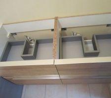 Le meuble sous vasques Sensea série