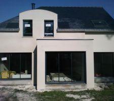 construction de notre nouvelle maison