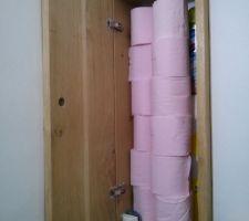 Etagère de rangement wc