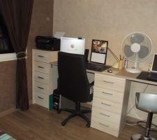 voici donc notre bureau definitif