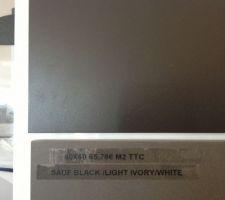 Casalgrande padana architecture black mat - on hésitait entre ces deux couleurs