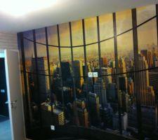 Et voilà la chambre New York de notre grande puce !!!  Elle adore