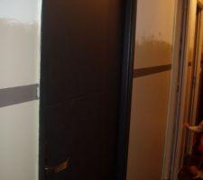 porte peinte en antrhacite
