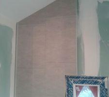 pose du lambris pvc au mur