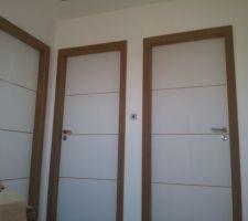 Voilà les portes !!!
