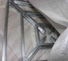 Défense de fenêtre galvanisée