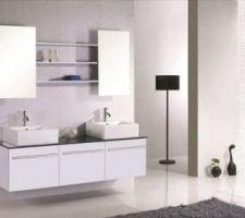 Meuble de salle de bain des garçons
