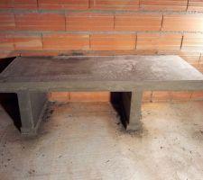 Support de l'insert en beton