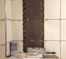Au niveau des wc suspendu