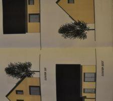 les quatre faces de la maison