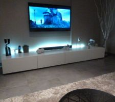 Led meuble tv