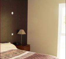Notre chambre ! En projet changement de mobilier avec achat d'un lit en 160 !!!
