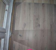 Chêne blanchi huilé brossé destiné à tout l'étage