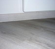 defaut de planeite du sol pour la pose des plinthes