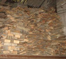 Récupération de 12m² de bois de chauffage