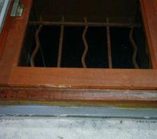 d origine voici nos fenetres en bois sur un cadre metal galva objectif pvc