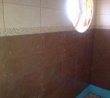 Faïence salle d'eau