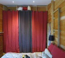 les rideaux enfin poses