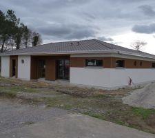 premiere construction dans le sud landes