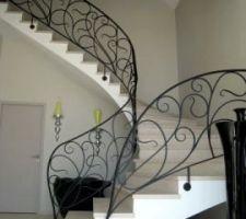 voila a quoi devrait ressembler notre escalier