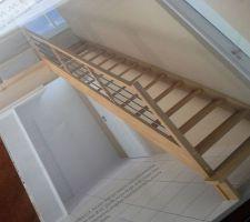 photo demo pour escalier