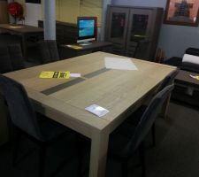 et la table qui va avec