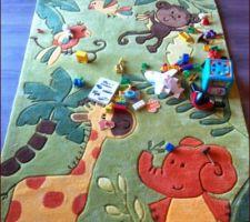 le tapis pour la chambre du dernier